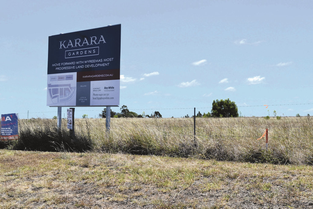 Karara Gardens at Wyreema.