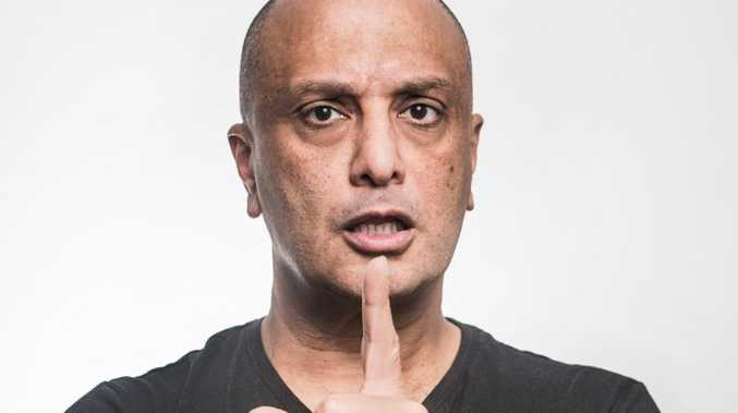 READY FOR LAUGHS: Akmal is coming to the Hervey Bay RSL to perform his new show, Transparent.