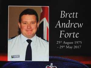 Photo tribute Brett Forte