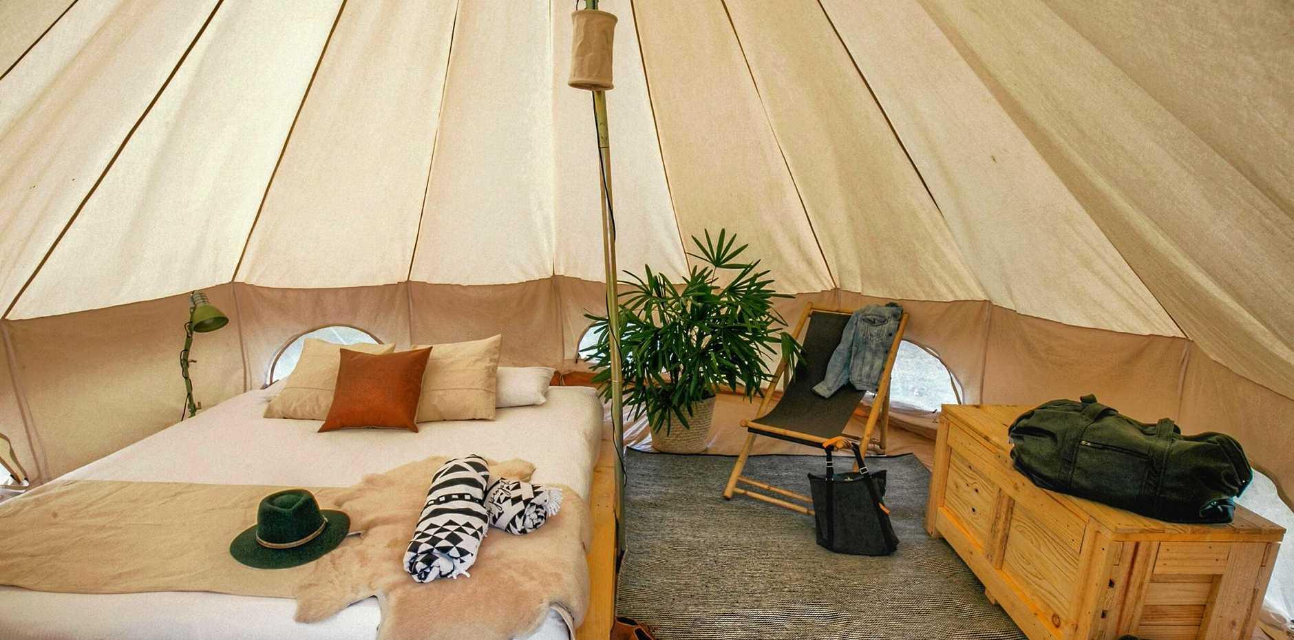 STAY THE NIGHT: Flash Camp returns to Kakadu for peak season.
