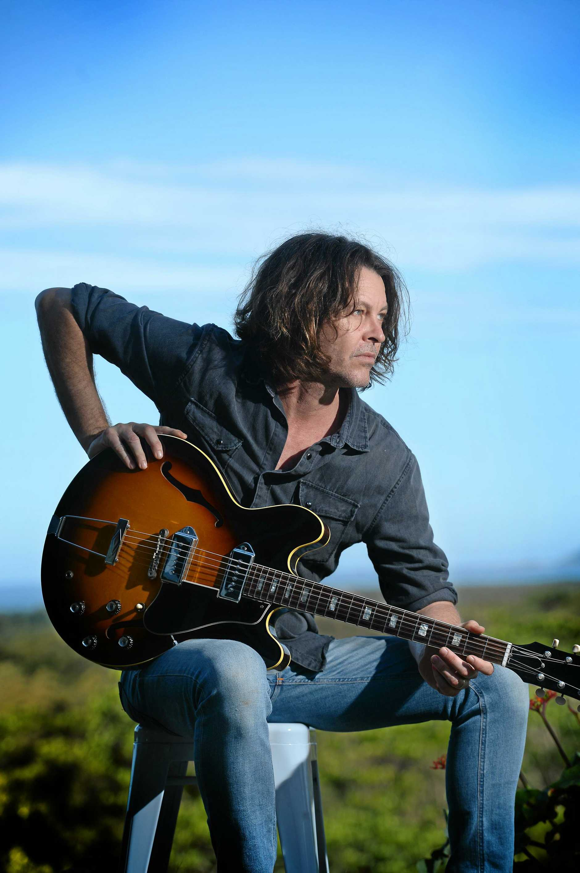 TWO ALBUMS: Brutal Dawn completes a two-album project between Bernard Fanning and local engineer Nick DiDia.