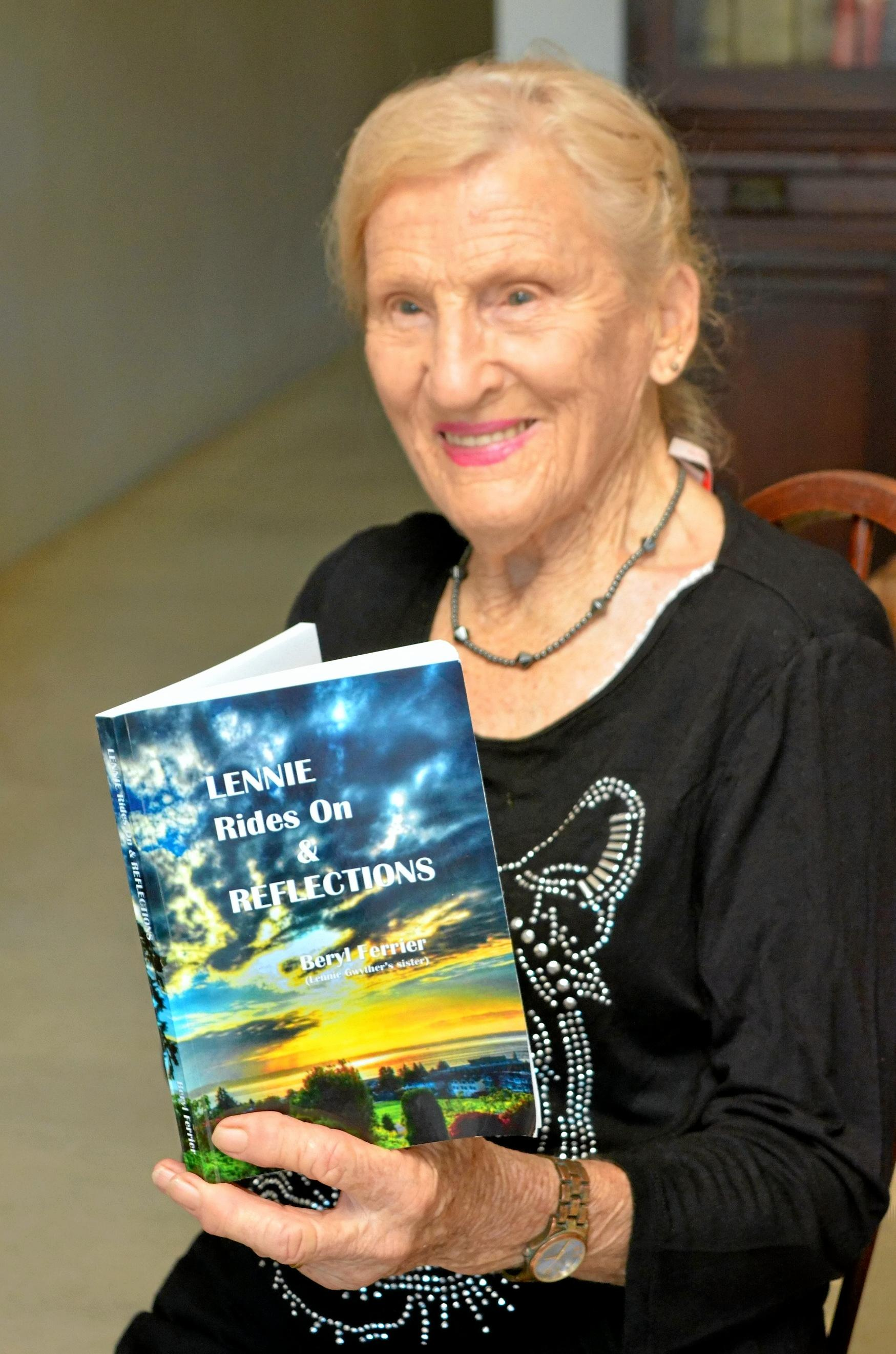 Beryl Ferrier records the life of an extraordinary family in her book, Lennie Rides On and Reflections.