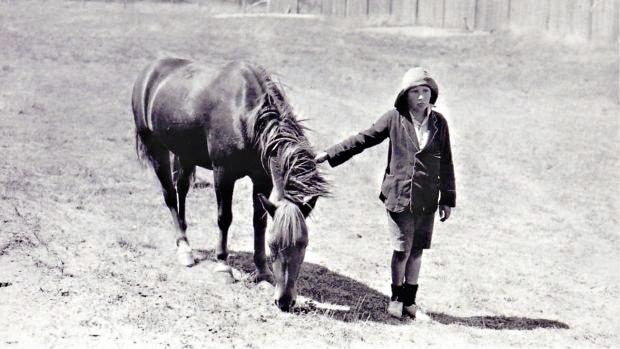 FRIENDS FOR LIFE: A deep bond existed between Lennie Gwyther and his pony Ginger Mick.