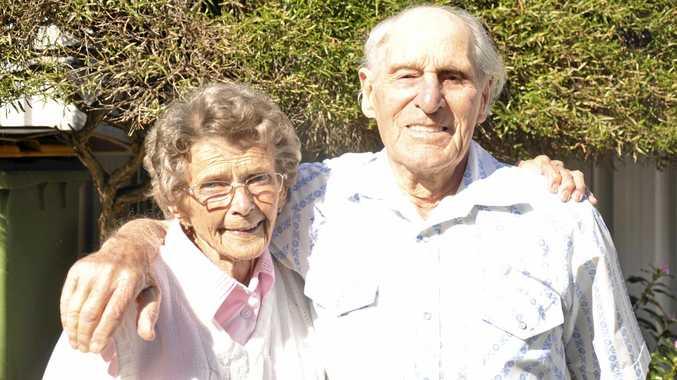 HAPPY ANNIVERSARY: Joyce and John Clarke are celebrating their 67th wedding anniversary.