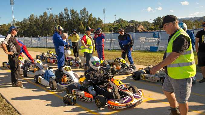 Spectators are more than welcome and there is an opportunity to get up close and personal with drivers and machinery.