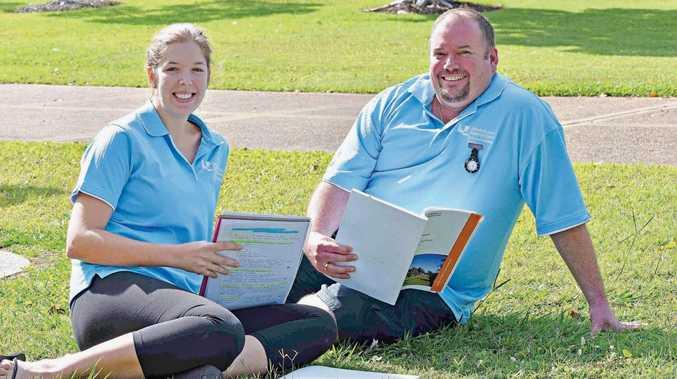 Catherine Sugget and Corey Johanson