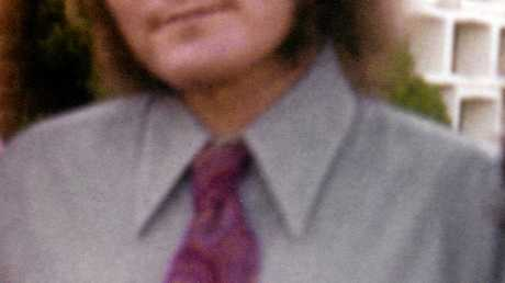 Danny Moore in 1978 at his sister's wedding.