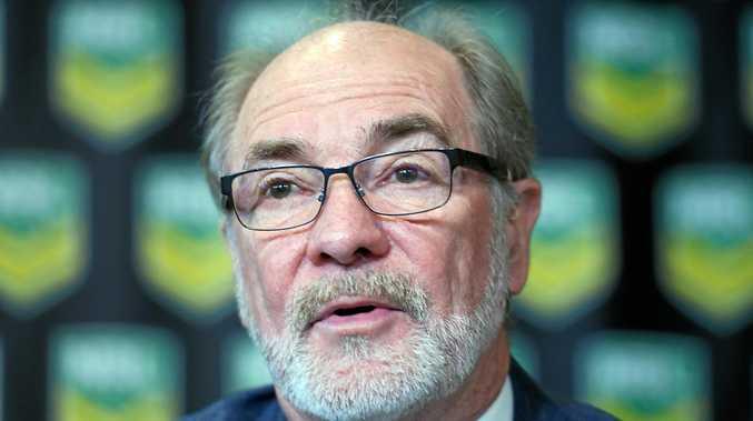 Australian Rugby League Commission chairman, John Grant, has quit.