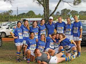 Making their mark on the women's rugby scene