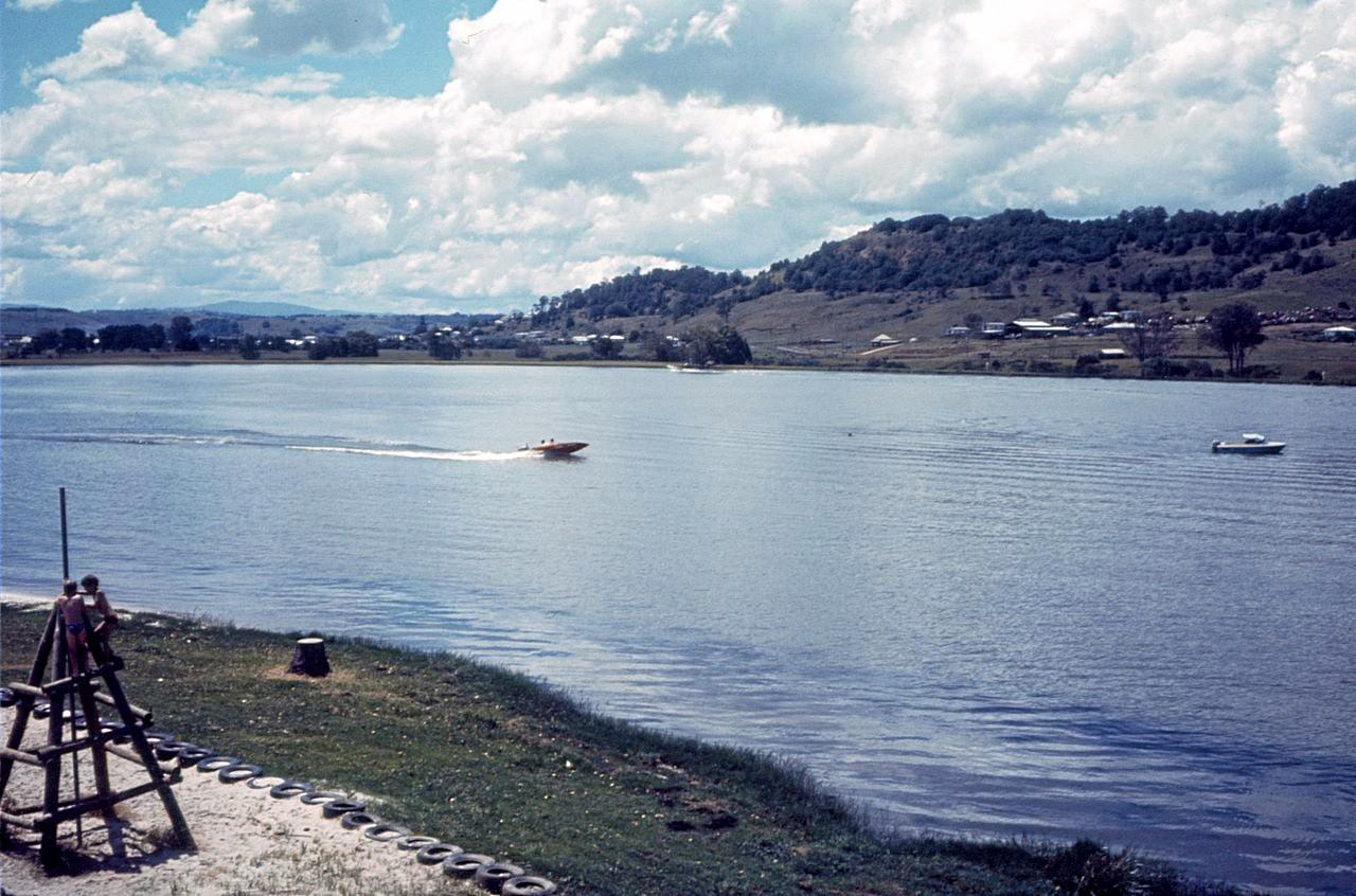 GOOD OLD DAYS: The Lismore Lake in its heyday in 1976.
