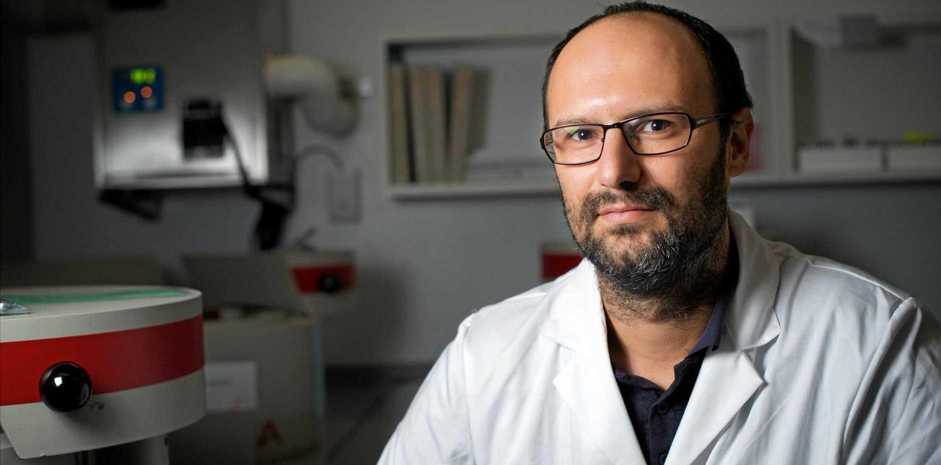 MILLION DOLLAR MAN: Professor Isaac Santos receives Australian Research Council Future Fellowship.