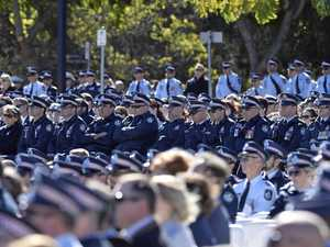 Vale Brett Forte, a fine officer of honour and courage