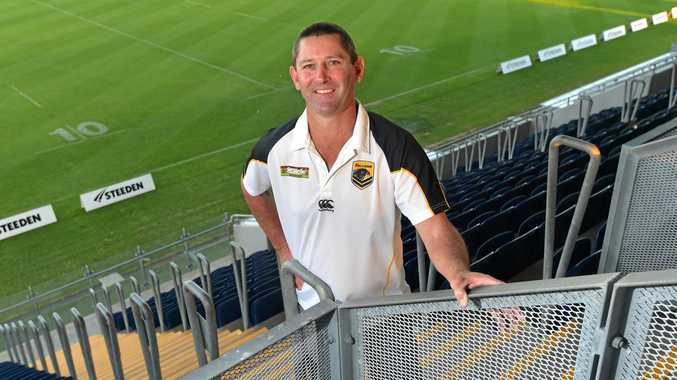 LEADER: Glen Dreger coach the Sunshine Coast Falcons in 2013. The Maryborough Brothers life member will coach Queensland Rangers.