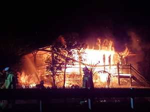 'Distraught': Shocking video shows home destroyed by fire