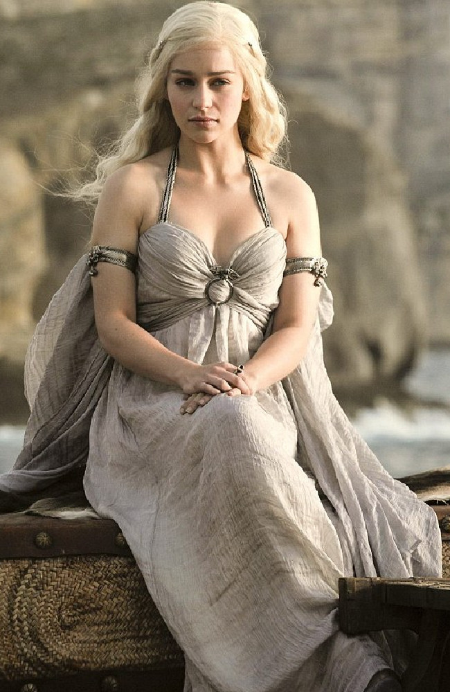 Emilia Clarke returns as Daenerys Targaryen in the seventh season of Game of Thrones, which premieres only on Foxtel on July 17.