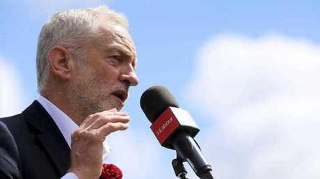 Labour Opposition Leader Jeremy Corbyn