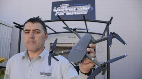 NEXT GEN: Toowoomba's Gary King, who is launching his new store Universal Drones, wants to make the Garden City the agricultural drone capital of Australia.