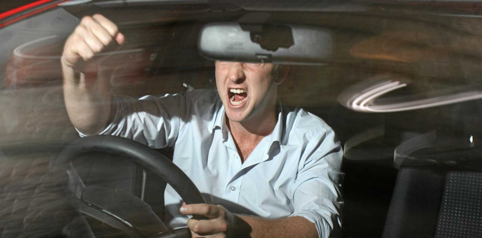 A Sunshine Coast mother has spoken out about a road rage attack while her newborn son was in the car.