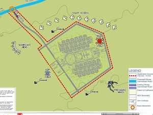 ADANI: Huge miners village and airstrip looming