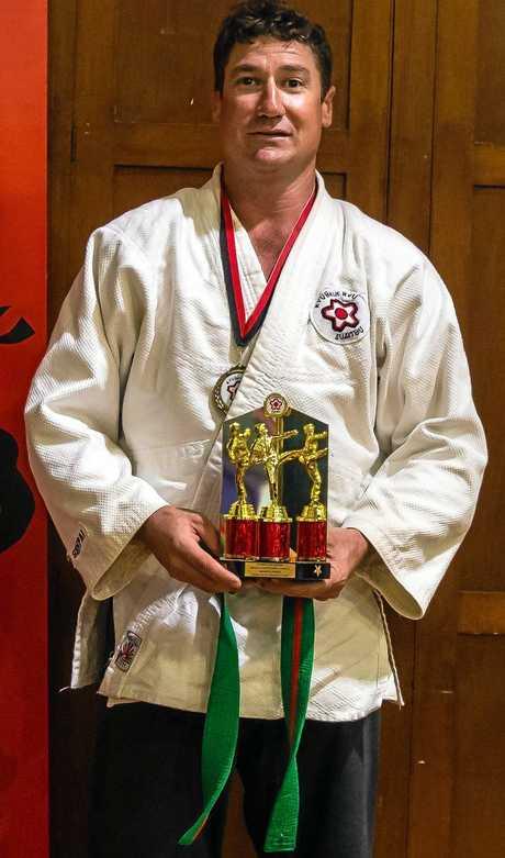 Greg Murray won the Shihan's Award at the annual Kyushin Ryu School of Jujitsu competition.