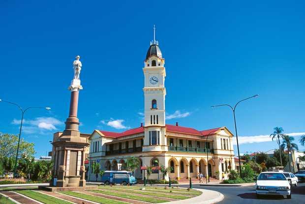 The Bundaberg Post Office in the CBD.  Photo: Bundaberg North Burnett Tourism