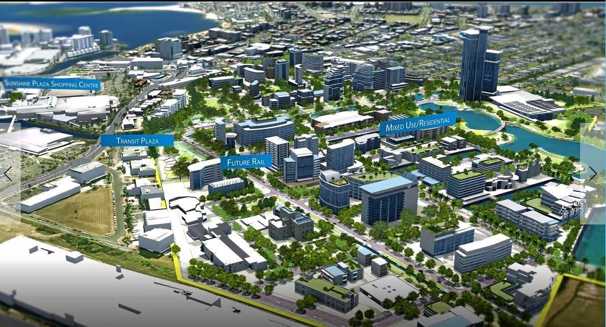PLANS: A flyover shows plans for Precinct 1.