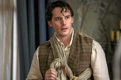 Sam Claflin in a scene from film My Cousin Rachel