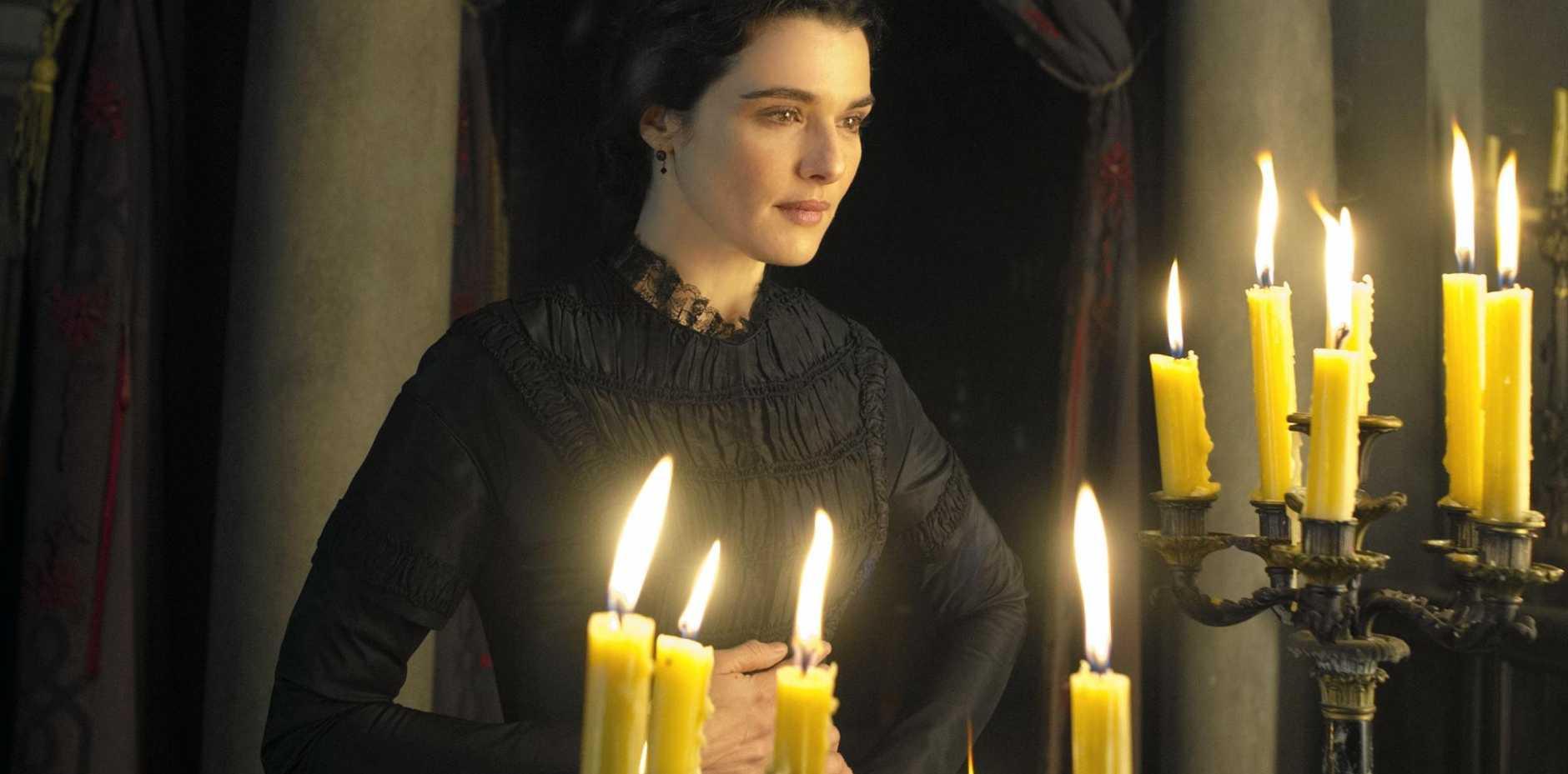 Rachel Weisz in a scene from film My Cousin Rachel.