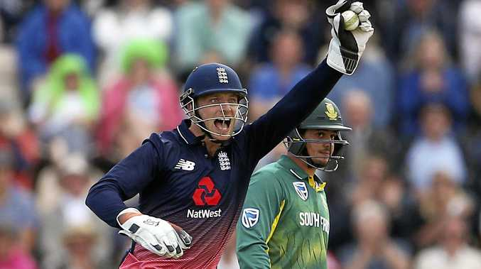 England's Jos Buttler says the home team wants to send a message to Australia.