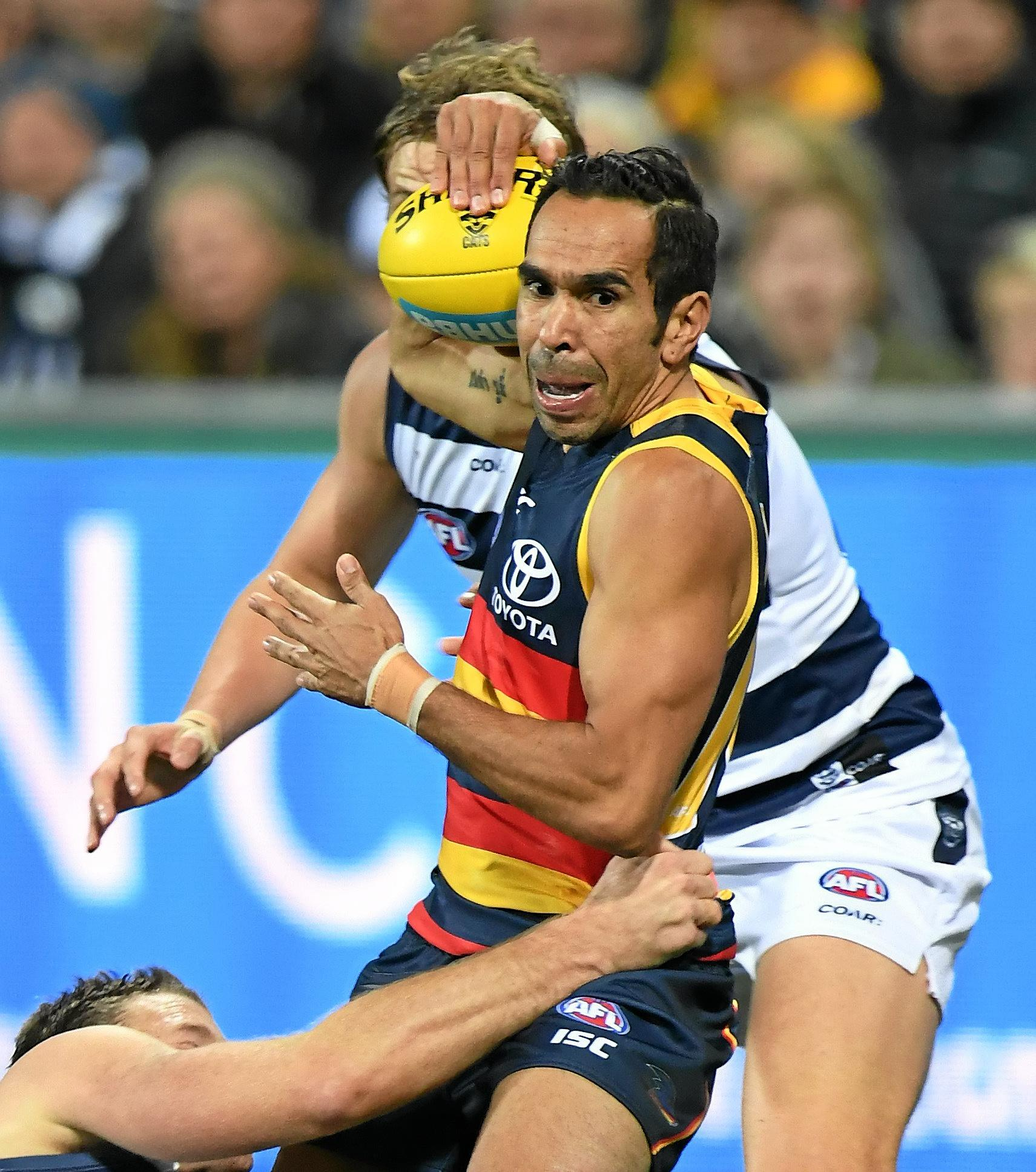 Adelaide Crows star Eddie Betts.