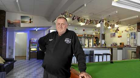 MEMORIES: Commercial Hotel Oakey publican Rolly Norris remembers Calvin Smith as a regular patron at his pub with a quick wit and feisty temperament.