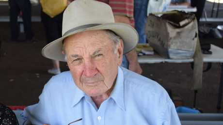 Calvin Smith, 82, died after an alleged pub fight in Oakey on Wednesday.