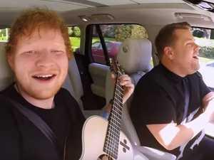 Ed Sheeran finally does James Corden's Carpool Karaoke