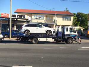 School traffic comes to crawl after three-vehicle smash-up