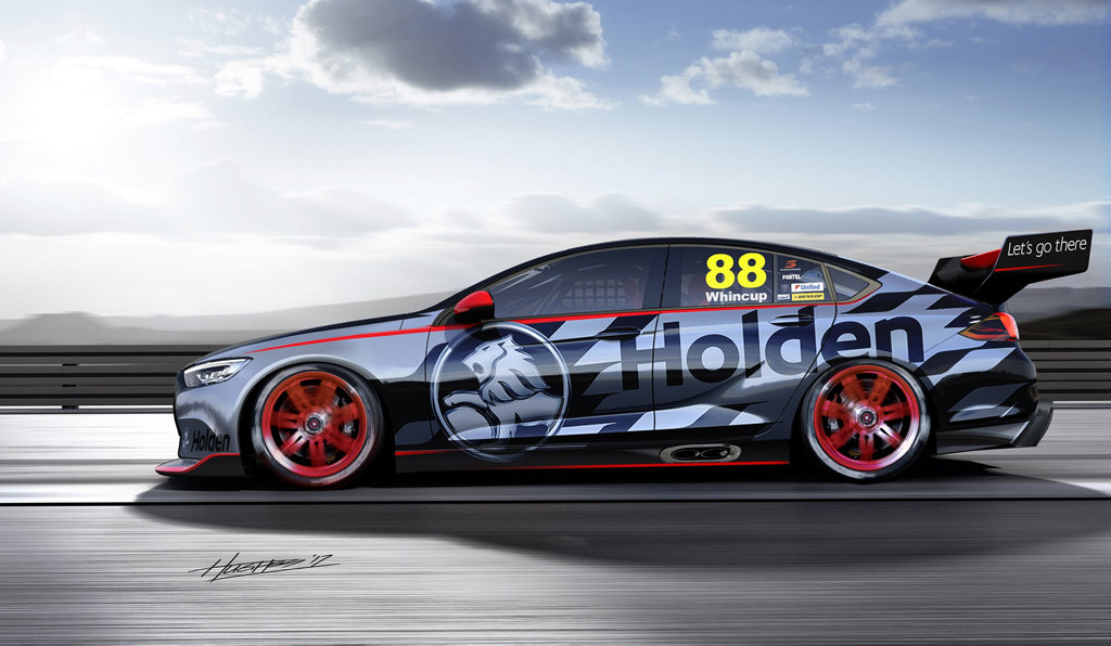 2018 Holden Commodore V8 supercar