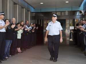Toowoomba sergeant farewells station