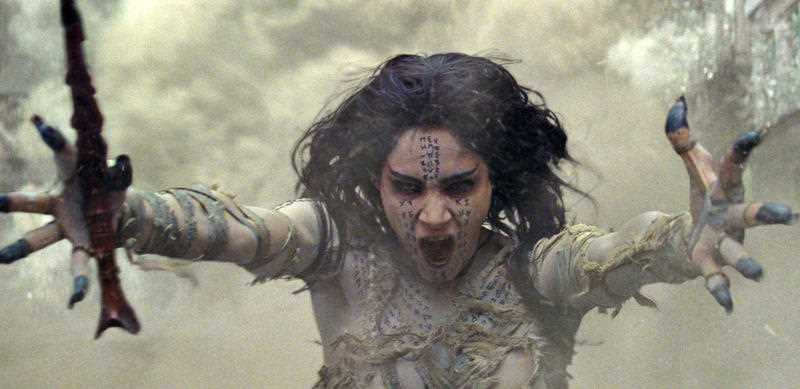 Sofia Boutella appears in a scene from,