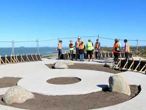 Lamberts Beach Lookout nears completion
