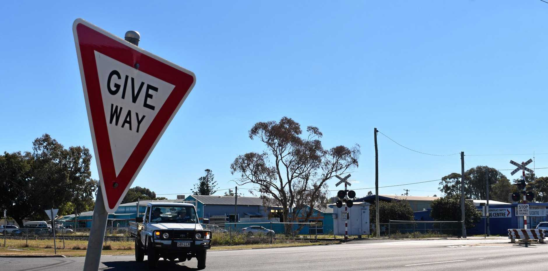 ACCIDENT WAITING TO HAPPEN: Residents have expressed concern over the intersection of Condamine and Roche Sts in Dalby.
