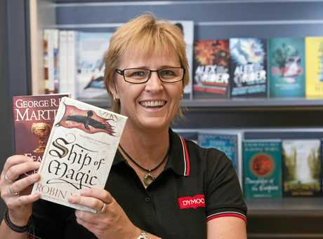 Dymocks franchisee Janelle Fyson is excited to bring the brand back to Toowoomba with the new Grand Central store, Thursday, June 8, 2017.