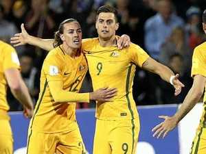 WATCH: Rogic cracker earns win for Socceroos against Saudis