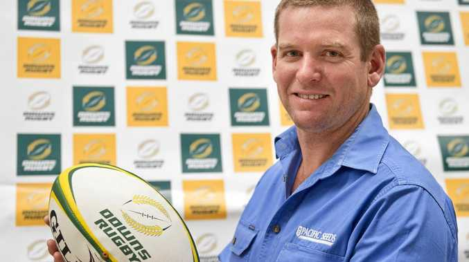 IN CHARGE: Darling Downs Rugby union coach Rob Johnston will coach the Queensland Country Heelers.