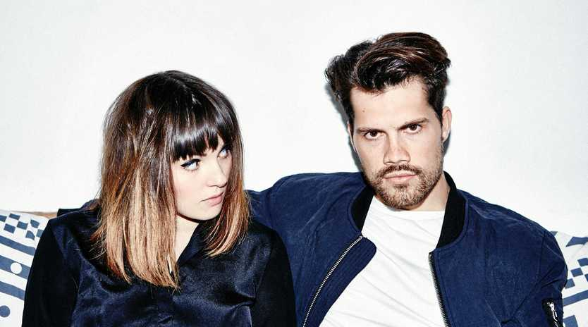 SYNTH-POP: Josephine Vander Gutch and Anthony West make up British electronic duo Oh Wonder.