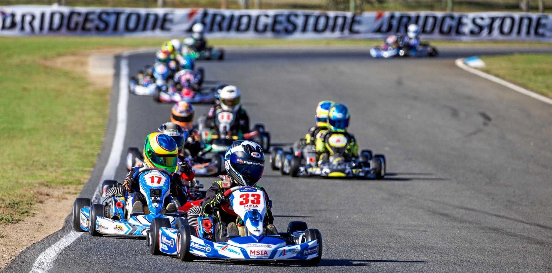 Max Deguara (#33) is expected to lead the Cadet 12 class at the Sugar City Titles this weekend .
