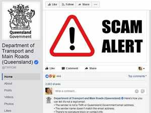 Department warns of scam email