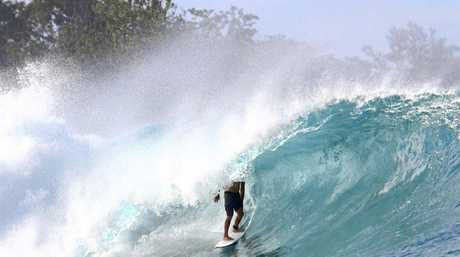 TYLER Kennedy of Caloundra who died in Bali Wednesday night loved to get deep in the barrel on quality waves across the globe.