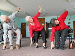 Learn about chair yoga at VIEW Club lunch