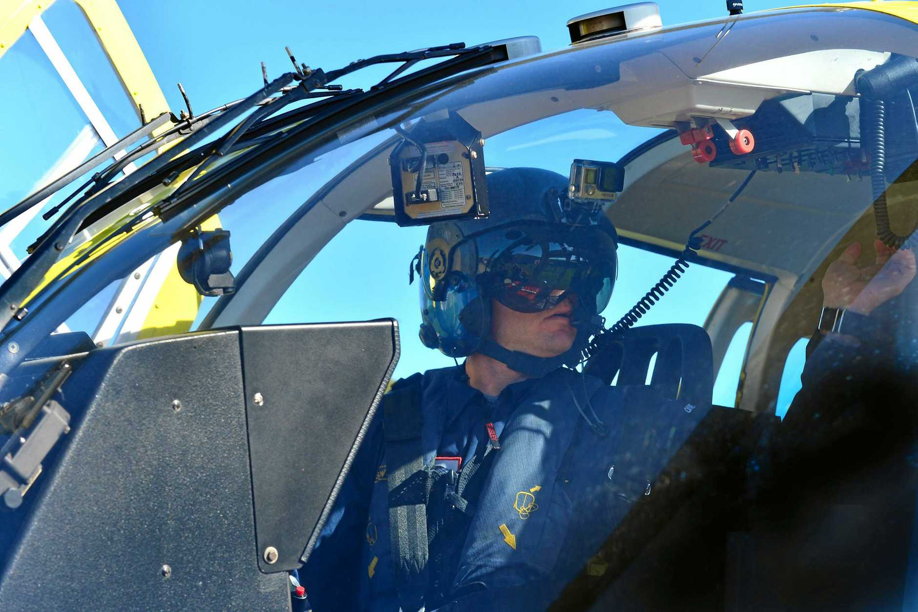 Westpac Lifesaver Rescue Helicopter Service will open the doors of its hangar on July 1 for the community to see its operations. Pilot David O'Brien.