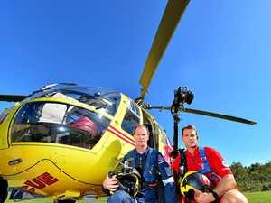 Westpac rescue helicopter crewmen