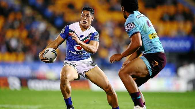 The Titans will be keen to shut down Warriors fullback Roger Tuivasa-Sheck.